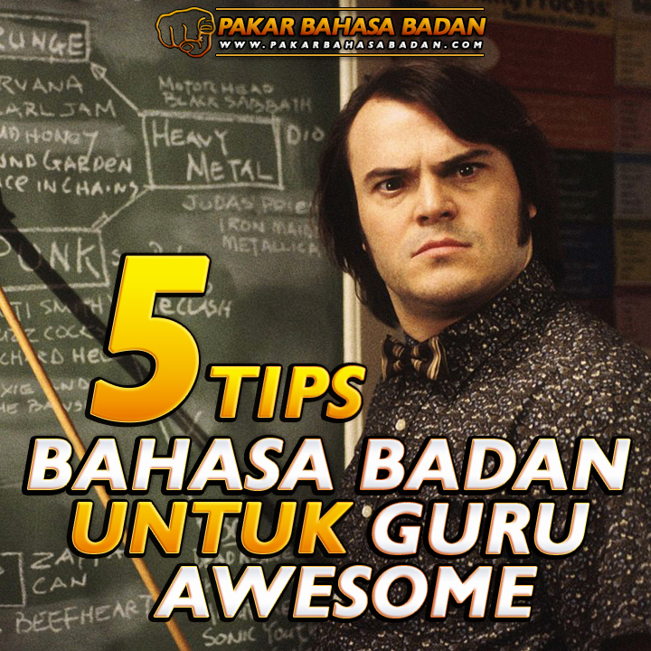 bahasa badan guru awesome