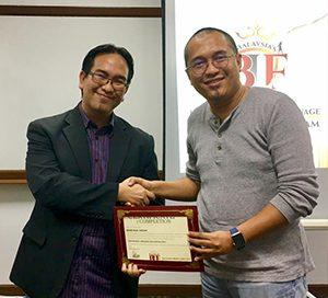 Bersama Alumni BLC - Pengasas Professional Learning Facilitator (PLF), Mohd Rizal Hassan